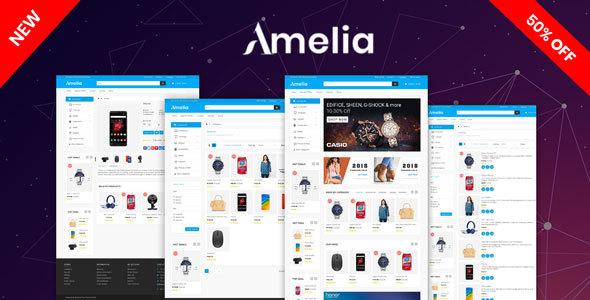 Amelia OpenCart 3.X Multipurpose Theme