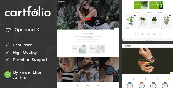 Cartfolio - Multipurpose OpenCart 3 Theme