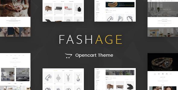 Fashage - Responsive Opencart 3.0 Theme