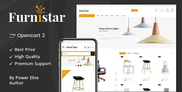 Furnistar - Multipurpose OpenCart 3 Theme