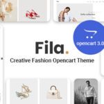 Creative Fashion Opencart theme – Pav Fila