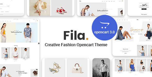 Pav Fila - Creative Fashion Opencart theme