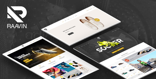 Raavin - Shoes Responsive OpenCart Theme