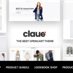 The Clean & Minimalist OpenCart Theme – Claue