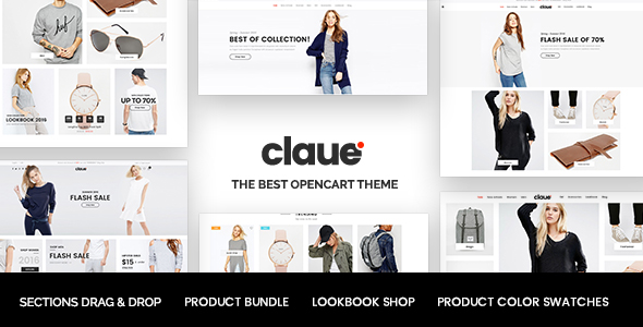 Claue - The Clean & Minimalist OpenCart Theme