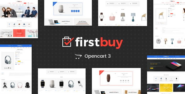 FirstBuy - Multipurpose OpenCart 3 Theme