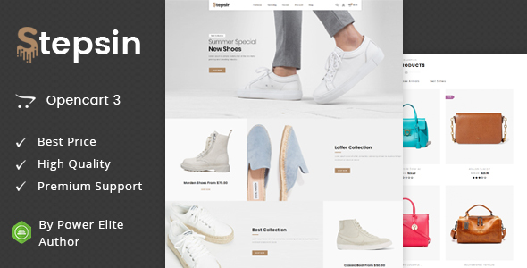 Stepsin - Multipurpose OpenCart 3 Theme