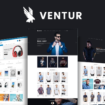 Fashion OpenCart Theme (Included Color Swatches) – Ventur