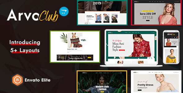 Arvo Club for Boutique - Opencart Multi-Purpose Responsive Theme