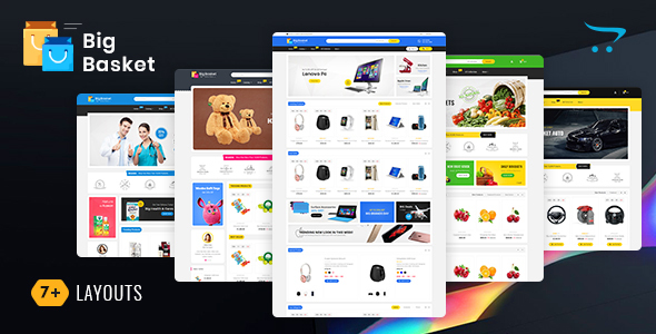 Big Basket - Opencart Multi-Purpose Responsive Theme