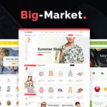 Opencart Multi-Purpose Responsive Theme – Big Market