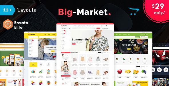 Big Market - Opencart Multi-Purpose Responsive Theme
