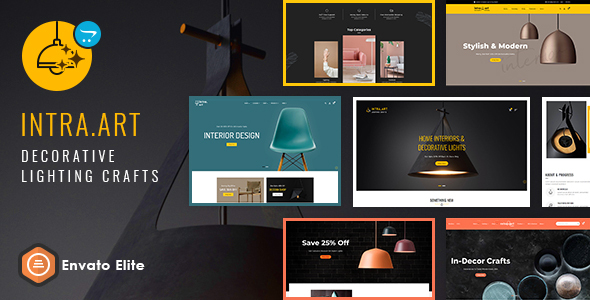 Intra Art - Opencart Multi-purpose Responsive Theme