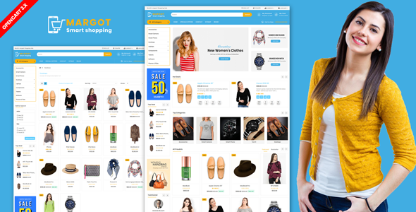 Margot — Multipurpose Shopping Opencart Theme