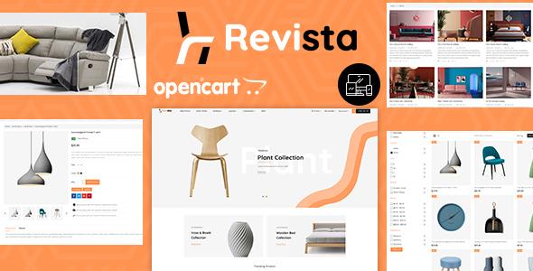 Revista - Opencart 3 Furniture Responsive Theme