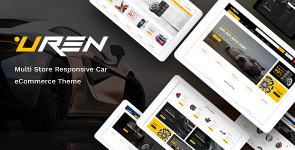 Uren - Car Accessories Opencart Theme (Included Color Swatches)