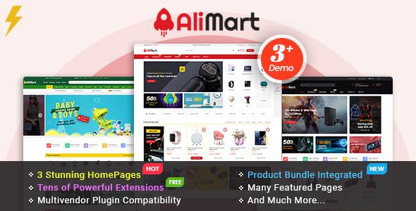 AliMart - Multipurpose OpenCart 3 Marketplace theme