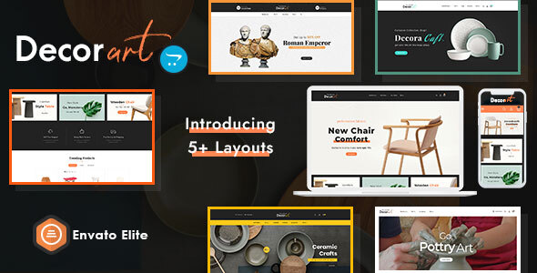Decor Art - Opencart Multi-Purpose Responsive Theme