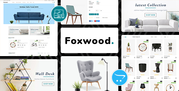 Foxwood - Opencart 3 Furniture Responsive Theme