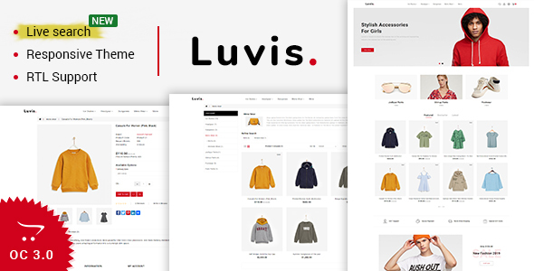 Luvis - Opencart 3 The Best Fashion Store