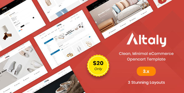 Altaly Multipurpose - Responsive Opencart 3.0 Theme