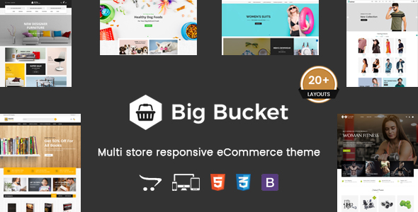 Big Bucket - Multipurpose Responsive OpenCart Theme