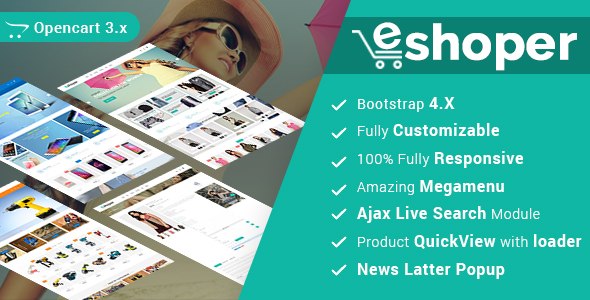 Eshoper - Multipurpose Best Opencart 3 Theme