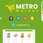 Metro Market – Grocery Store Opencart Theme