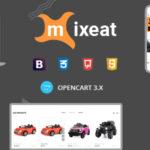 Ecars Opencart Responsive Theme – Mixeat