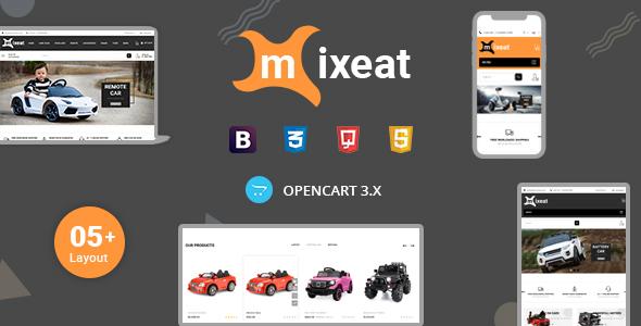Mixeat - Ecars Opencart Responsive Theme