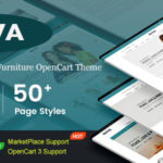 Responsive Fashion & Furniture OpenCart 3 Theme with 3 Mobile Layouts Included – Nova