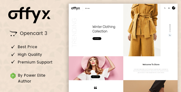 Offyx - Multipurpose OpenCart 3 Theme
