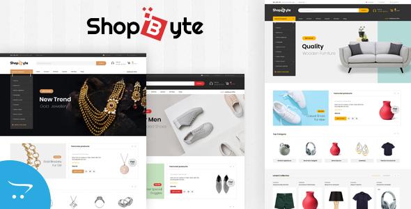 ShopByte - Multipurpose OpenCart 3.x Responsive Theme