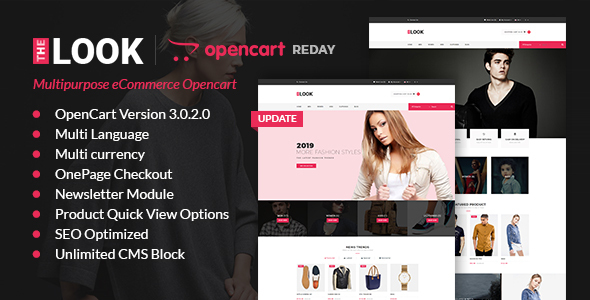 The Look - Responsive Multipurpose Opencart 3 Theme