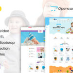 Kids Clothing & Toys Opencart Theme – Toytown