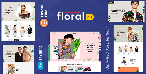 Floral - Opencart Multi-Purpose Responsive Theme