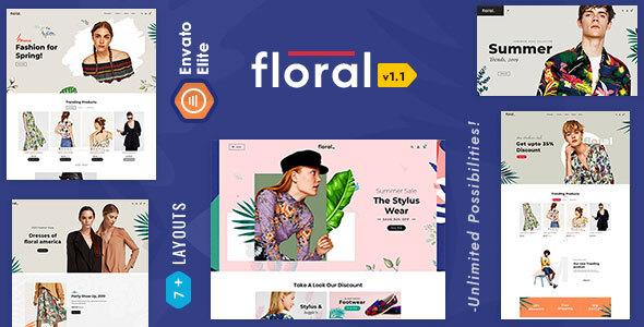 Floral - Opencart Multi-Purpose Responsive Theme