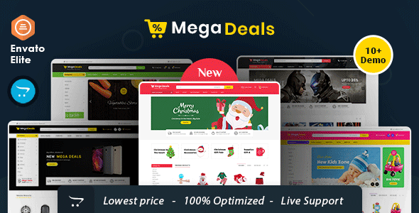 Mega Deals - Opencart Multi-Purpose Responsive Theme
