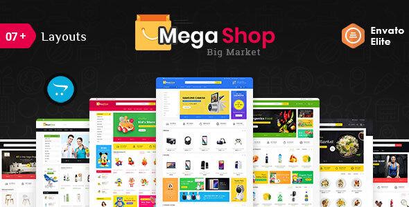 Mega Market - Opencart Multi-Purpose Responsive Theme