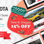 Auto Parts, Tools, Equipments and Accessories Store Opencart Theme – Monota