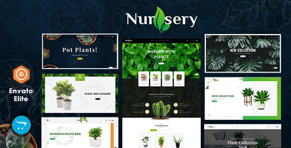 Nursery Plant - Opencart Multi-Purpose Responsive Theme