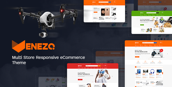 Venezo - Technology OpenCart Theme (Included Color Swatches)