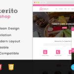 Cake Shop Opencart 3.x Responsive Theme – Cakerito