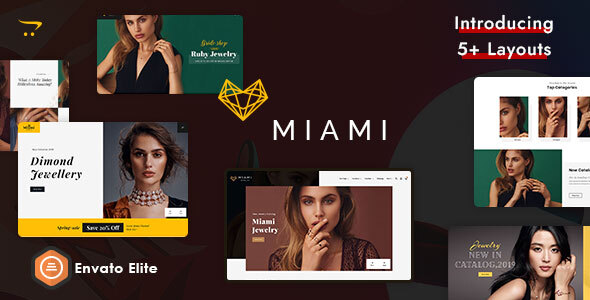 Miami Jewelry - OpenCart Multi-Purpose Responsive Theme