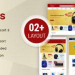 Mega Electronics OpenCart 3.x Responsive Theme – Eleflys