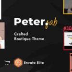 eCommerce OpenCart Theme for Boutique Shop – Peter