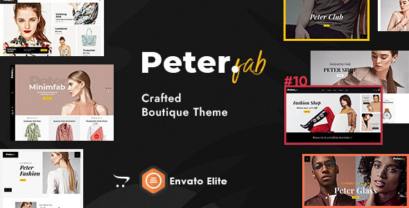 Peter - eCommerce OpenCart Theme for Boutique Shop