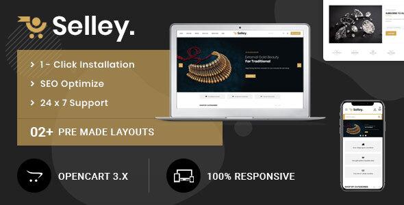 Selley Multipurpose - Responsive Opencart 3.0 Theme