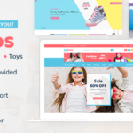 Baby and Kids Multi Store OpenCart Theme – Kiditos