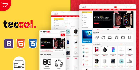 Teccol - OpenCart Multi-Purpose Supermarket Theme
